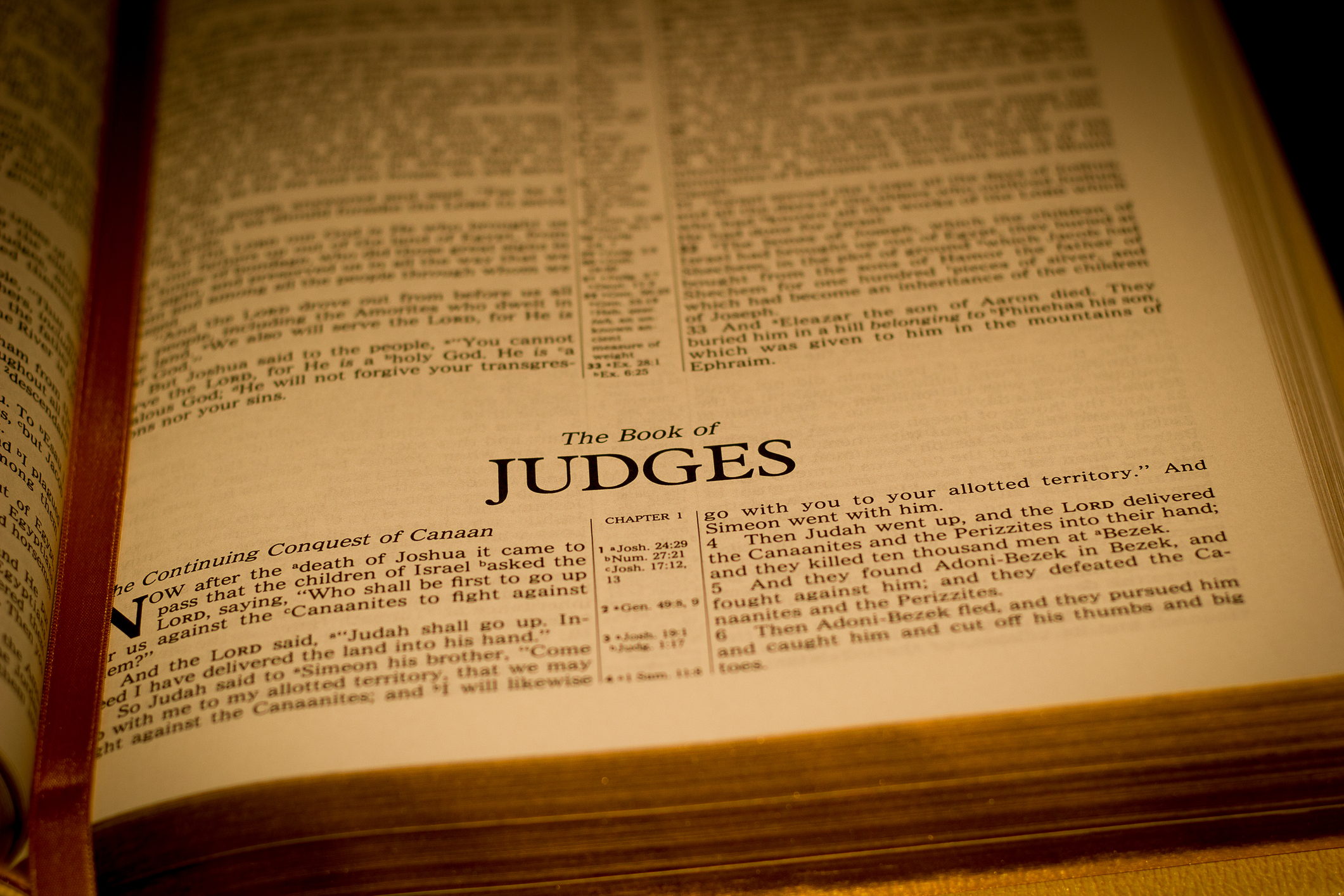 Bible - Judges